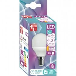4U LED ESF 5W E27 250º 400LM 3